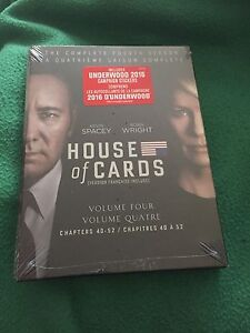House of Cards Season 4 - New & Sealed