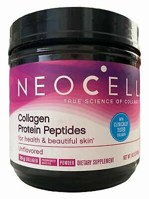 Neocell Collagen Protein Peptides Power Supplement 14.3 oz. Unflavored