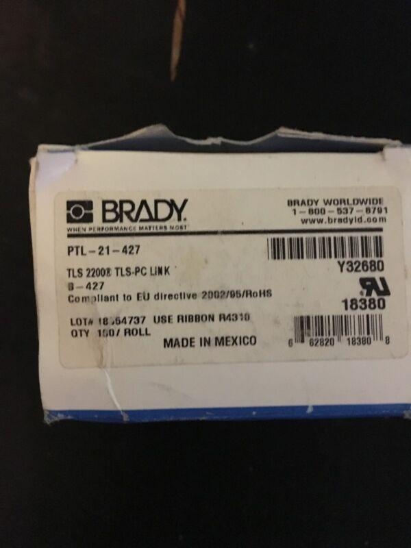 brady labels ptl 21-427