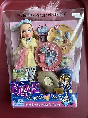 "MGA BRATZ SLUMBER PARTY MEYGAN ORIGINAL NIB NRFB 10"" FASHION DOLL SEALED NEW"