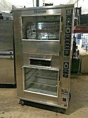 2-in-1 Rotisserie Oven Warmer