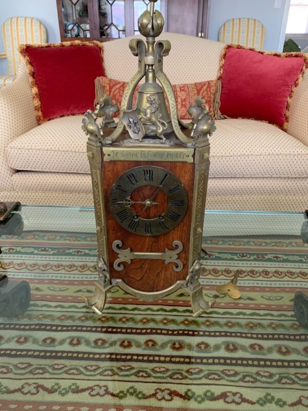 "Antique French Mantle Clock - By  ""A.D. Mougin Deux Medailles""  (Stunning Rare!)"