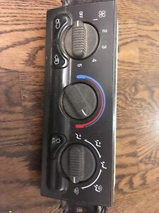 GM climate control switch