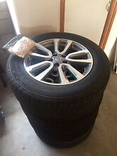 Nissan Pathfinder r52 wheels and tyres (brand new) Ayr Burdekin Area Preview