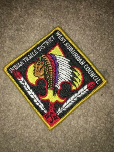 Boy Scout Indian Trails West Suburban Illinois YEL District CP DP Council Patch