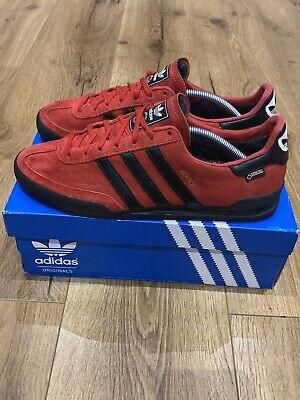 Adidas OG Jeans GTX Gore-tex Red Black UK 9.5 Boxed Koln Berlin Dublin London