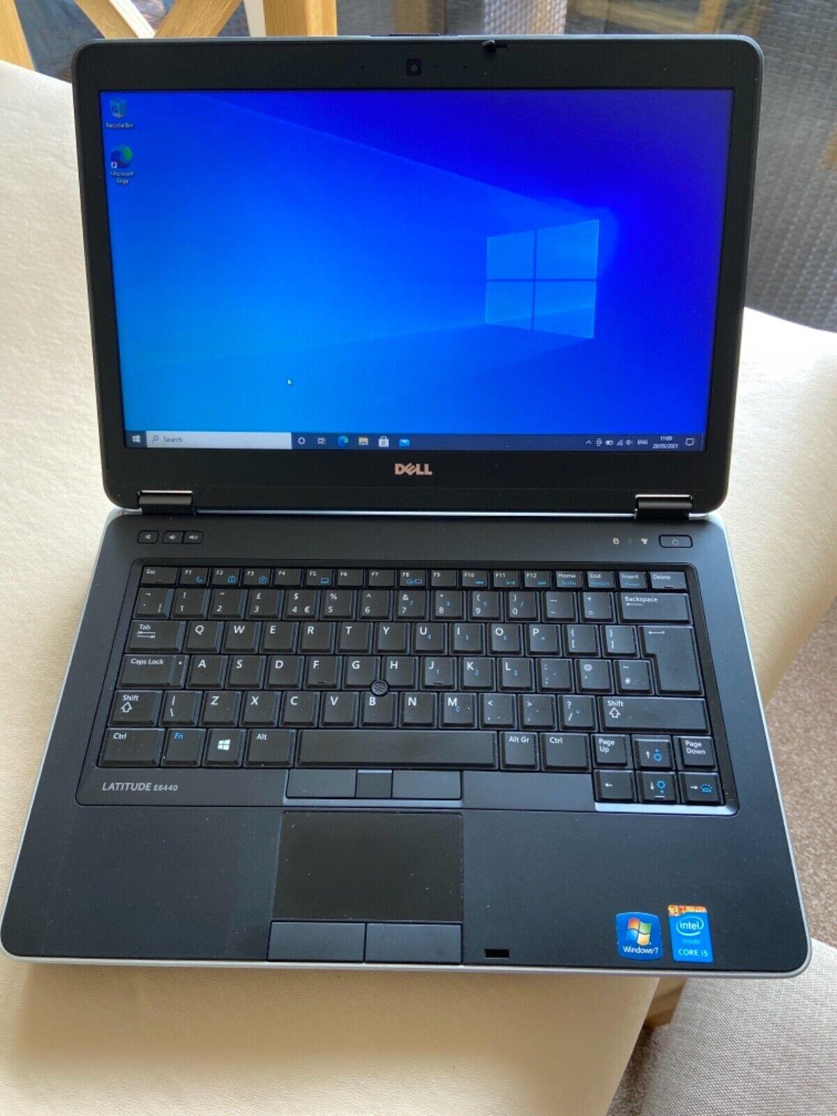 Laptop Windows - Dell business laptop E6440  windows 10 pro 64 Bit