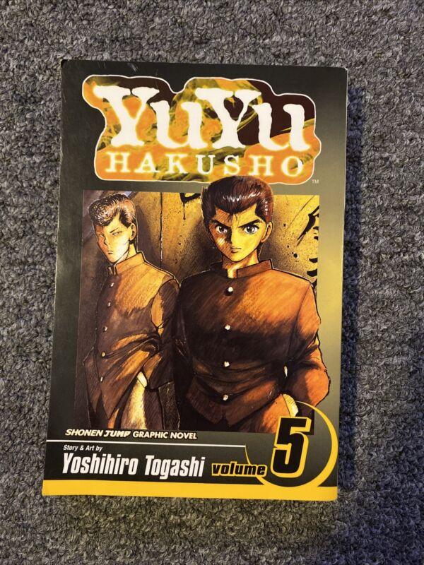 YuYu Hakusho Manga English Vol 5