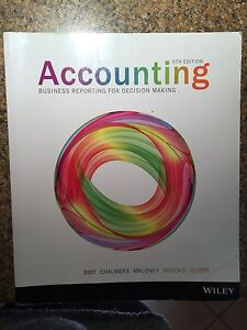 Accounting, Wiley, 5th edition Altona Meadows Hobsons Bay Area Preview