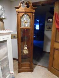Howard Miller 610-185 Grandfather Floor Clock - Oak