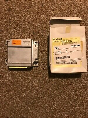 MAZDA 323F 2001 - AIR BAG ECU CONTROL MODULE UNIT - B25E57K30B