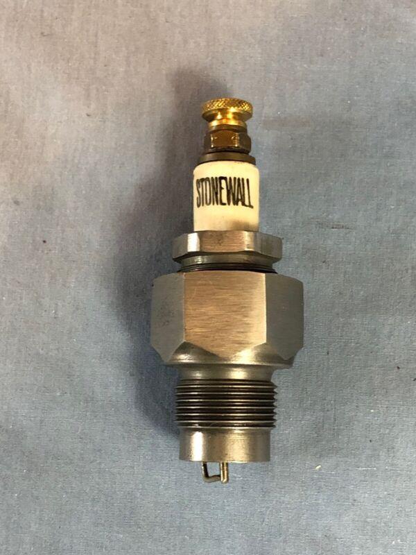 """STONEWALL""  Vintage Antique Spark Plug"