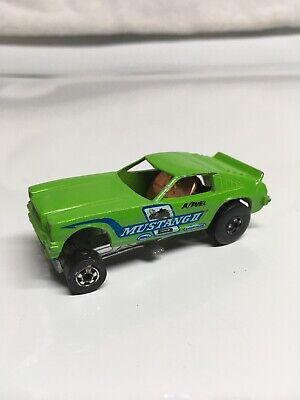 Hot Wheels Mustang II 1969 Green Made in Hong Kong