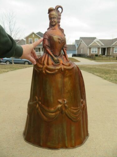 """Outstanding Antique Victorian Copper Fireplace Cover """"Made in Nestor England"""""""