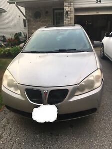 2007 Pontiac G6 Silver (Needs New Engine , Parts Car)