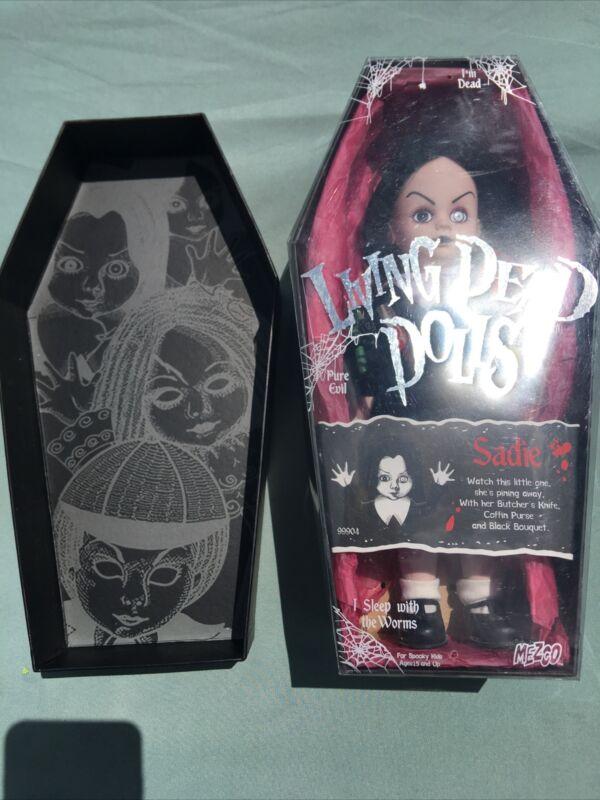 Living Dead Doll - Sadie - Series 1 Mezco 2000 CIB 99904 LDD