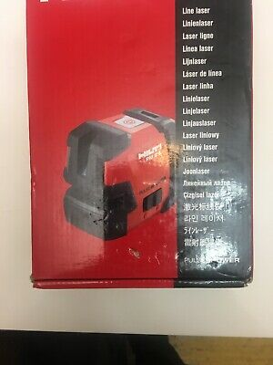 Hilti Pm 2-l Line Laser New. Red. Hilti Pulse Power