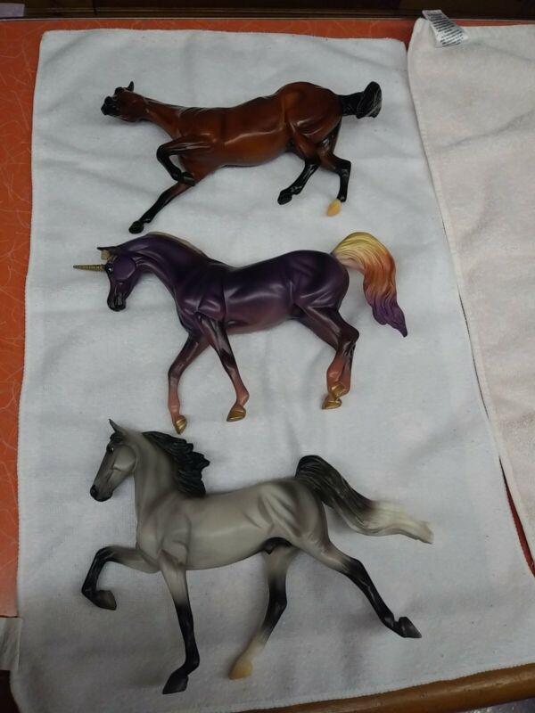 Breyer Horse Classic lot of 3.