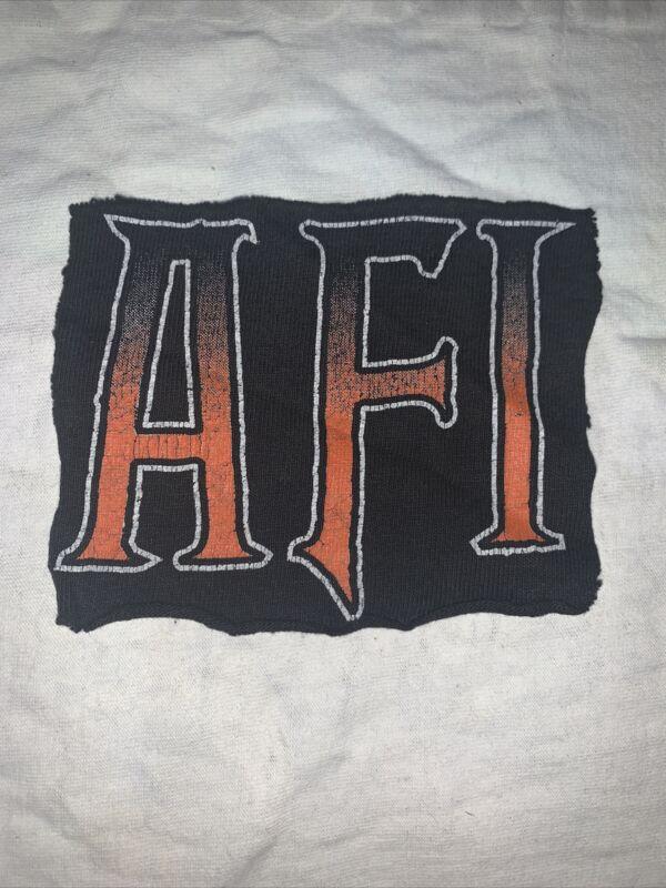 AFI A FIre Inside Patch Fan Hardcore Punk Blaqk Audio