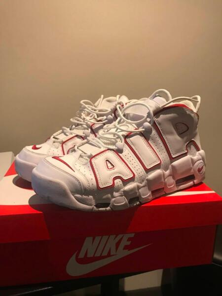 promo code 4a1b9 8b3a6 Nike Air More Uptempo  96  Varsity Red  (SIZE US11)