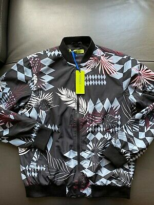 Authentic Versace Jeans floral jacket size Small