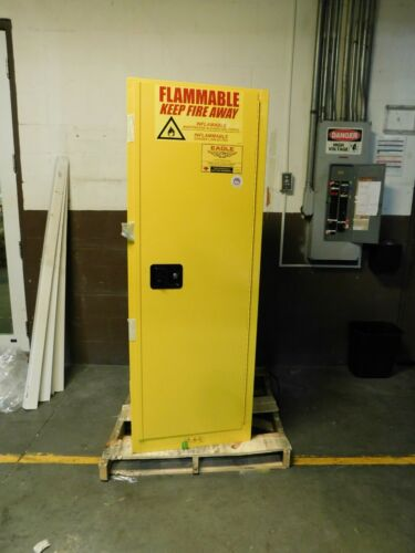 Eagle Safety Cabinets for Hazardous Chemical Yellow 1923X