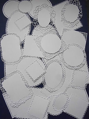 Large amount of Tattered Lace, Stephanie Weightman die cut Mats