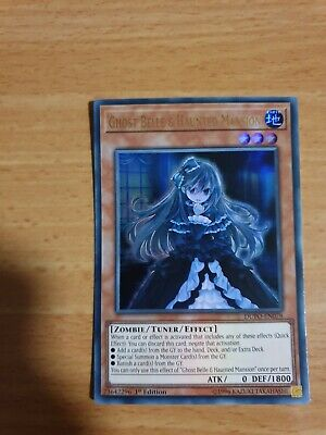 Ghost Belle /& Haunted Mansion DUPO EN078 Ultra Rare 1st Edition Yugioh