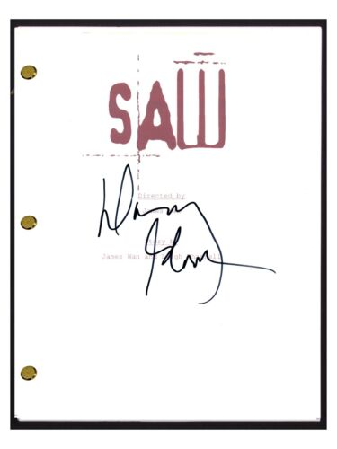 Danny Glover Signed Autographed SAW Full Movie Script COA