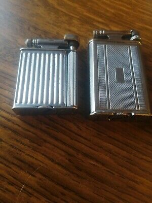 vintage Petrol Lighters X2