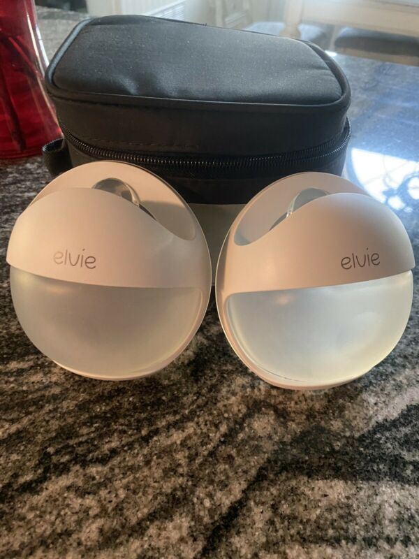 Elvie Curve Wearable Silicone Breast Pump - White