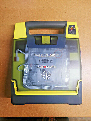 Cardiac Science Powerheart G3 Plus Aed Automatic W Pads Case No Battery