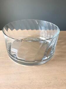 KROSNO SERVING BOWL – 25.5cm Diameter POLISH GLASS