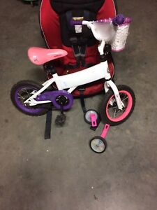 "12"" Doodle Bike with training wheels"