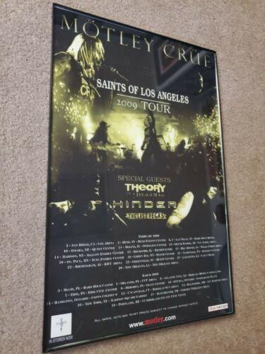 Motley Crue Saints of Los Angeles tour poster 11x17