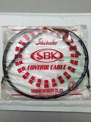 <em>YAMAHA</em> DT125 FRONT BRAKE CABLE 1974 MADE IN JAPAN