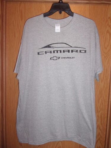 Chevrolet Camaro gray graphic XL t shirt