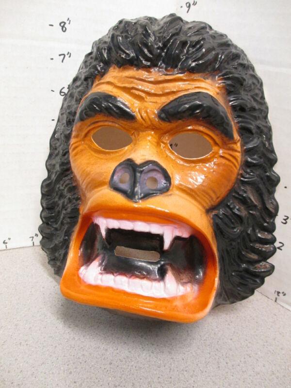 halloween mask 1976 KING KONG gorilla monkey monster Paramount movie BROWN
