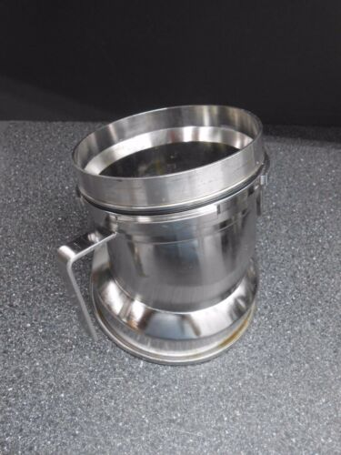 B1275 1.4435 316 STAINLESS STEEL 60º ANGLED BIOREACTOR INFEED WITH SIDE ARMS