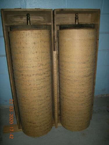 Barrel Piano ROLLS (Cylinders, Cobs) for Vintage instrument