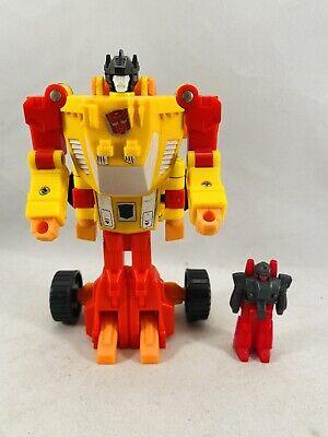 transformers g1 original vintage targetmasters sureshot 100% complete