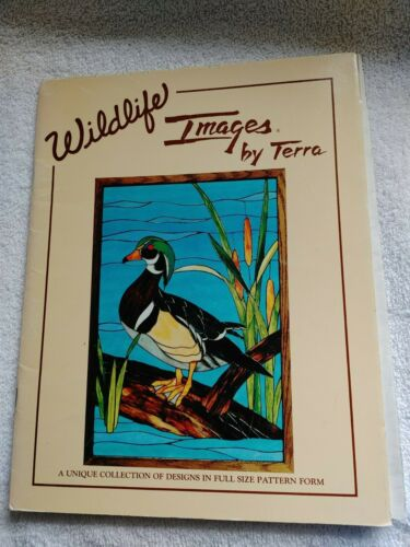 Wildlife Images by Terra Stained Glass - 6 Full Size Patterns Book