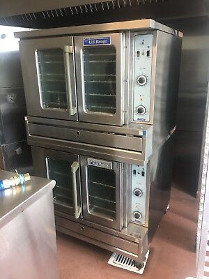 U.S. Range Sunfire Double Stack Gas Convection Oven Model SDG-1 Gas Stove Convection Oven