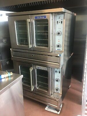 U.s. Range Sunfire Gas Convection Oven Model Sdg-1