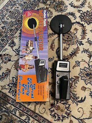 Vintage Radio Shack Micronta 3001 Metal Detector Tested Works