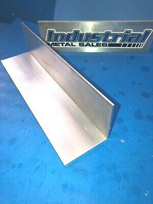 6061 T6 Aluminum Angle 3 X 3 X 12 Long X 18 Thick-- 3 X 3 X 12 X .125