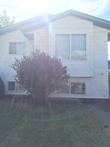 House For Rent Sask Side of Lloyd . Pet friendly   Open house