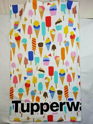 TupperWare Consultant Award Logo Blanket Tablecloth Ice Cream Cones Popsicles