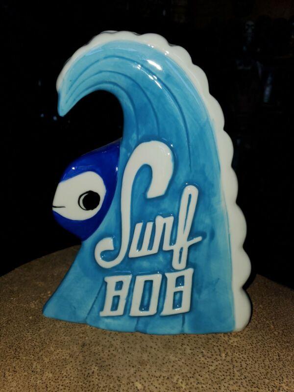 Tiki Mug Surf Bob Munktiki Imports Blue Fish Ocean Wave Surf sold out