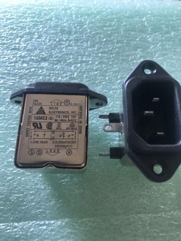 DELTA Ac Power IEC Inlet Emi Filter (2 Pcs)